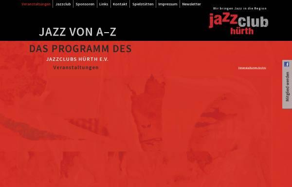 Vorschau von www.jazzclub-huerth.de, Jazz-Club Hürth e.V.
