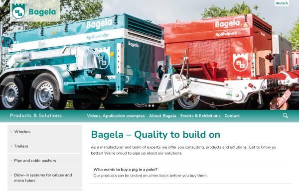 Vorschau von bagela.de, Bagela Baumaschinen GmbH & Co. KG