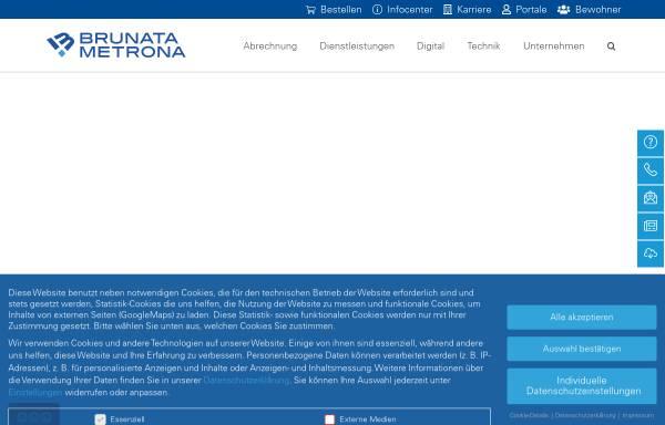 Vorschau von www.brunata-huerth.de, Brunata Hürth Niederlassung