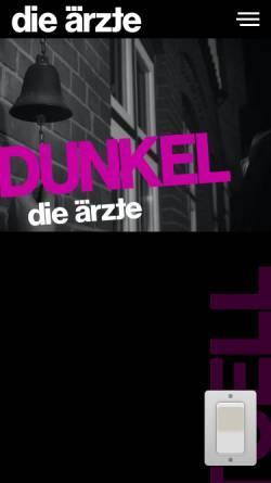 Vorschau der mobilen Webseite www.bademeister.com, Die beste Band der Welt