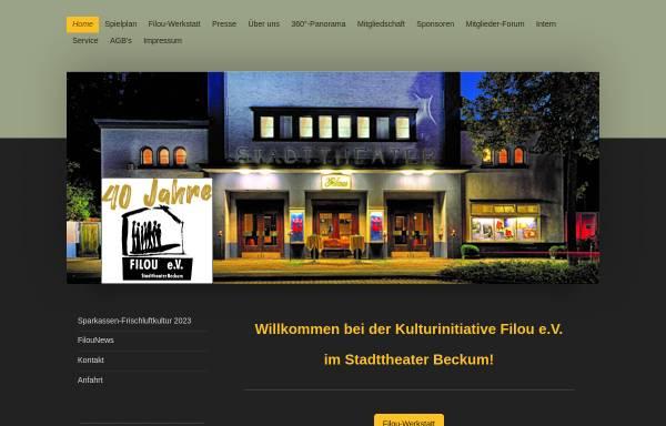 Vorschau von www.filou-beckum.de, Kulturinitiative Filou e.V.