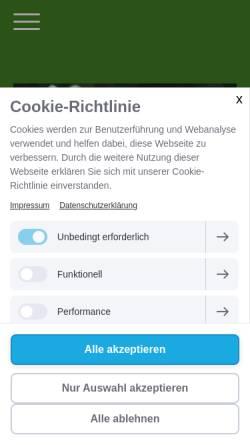 Vorschau der mobilen Webseite www.rsc-strausberg.de, 1. Radsportclub im KSC Strausberg e.V.