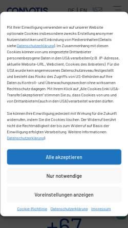 Vorschau der mobilen Webseite www.x-sale.de, Arche Noah Network