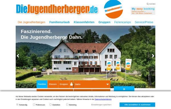 Vorschau von www.diejugendherbergen.de, Jugendherberge Dahn