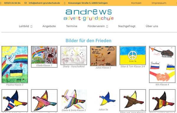 Vorschau von www.advent-grundschule.de, Andrews Advent-Grundschule Solingen