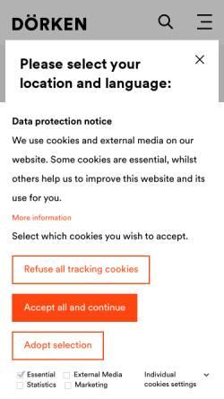 Vorschau der mobilen Webseite www.cd-color.de, CD-Color GmbH & Co.KG