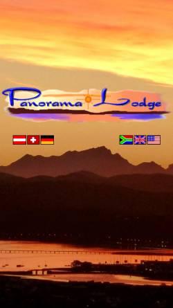 Vorschau der mobilen Webseite www.panorama-lodge.com, Panorama Lodge
