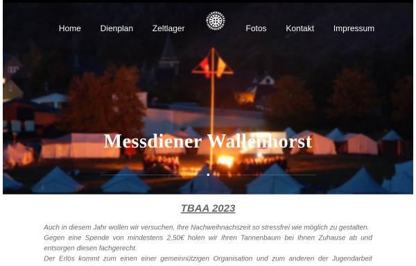 Vorschau von www.messdiener-wallenhorst.de, Messdiener St. Alexander, Wallenhorst