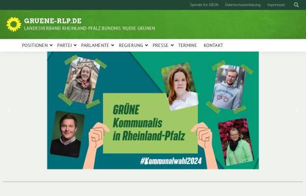 Vorschau von www.gruene-rlp.de, Bündnis 90/Die Grünen Rheinland-Pfalz