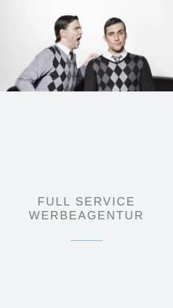 Vorschau der mobilen Webseite www.denkbetrieb.de, Denkbetrieb