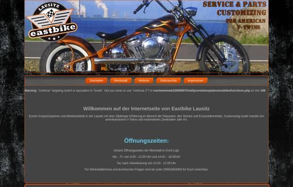 Vorschau von www.eastbike-lausitz.de, East Bike Lausitz