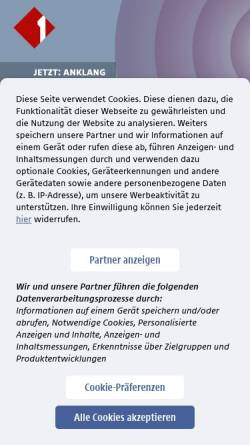 Vorschau der mobilen Webseite oe1.orf.at, ORF - No trust in the trusted authority?