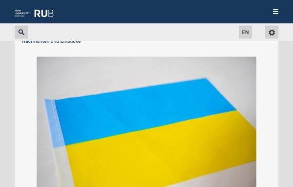 vorschau von wwwruhr uni bochumde ruhr universitt bochum - Uni Bochum Bewerbung