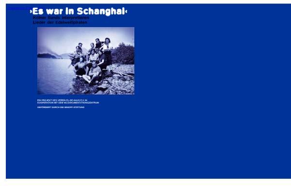 Vorschau von www.museenkoeln.de, Es war in Schanghai - Kölner Bands interpretieren Lieder der Edelweißpiraten