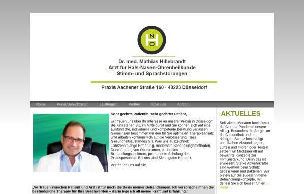 Vorschau von www.dr-hillebrandt.de, Hillebrandt, Dr. M.