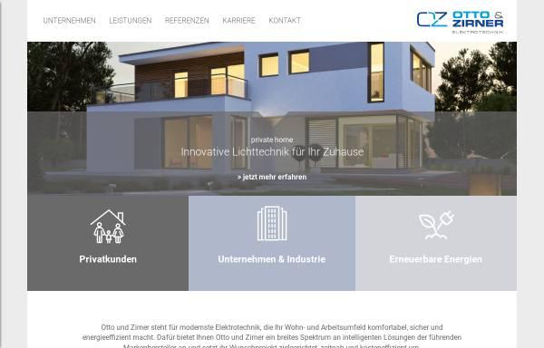 Vorschau von www.eloz.de, Elektrotechnik Otto & Zirner GmbH