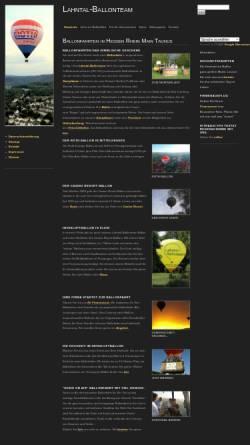 Vorschau der mobilen Webseite lahntal-ballonteam.de, Lahntal Ballonteam