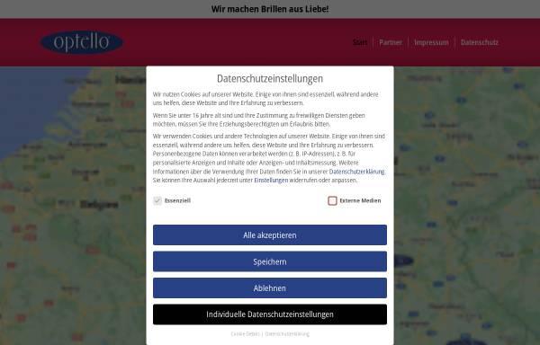 Vorschau von www.optello.de, Optello-Optik