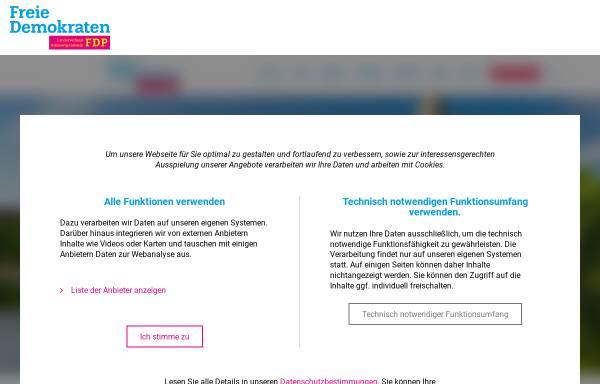 Vorschau von www.fdp-sh.de, FDP Schleswig-Holstein