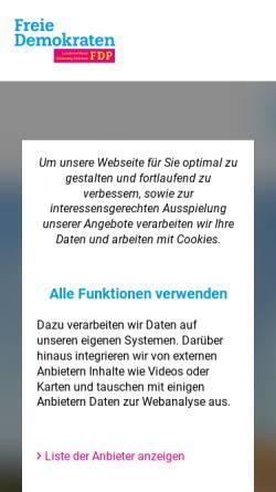 Vorschau der mobilen Webseite www.fdp-sh.de, FDP Schleswig-Holstein
