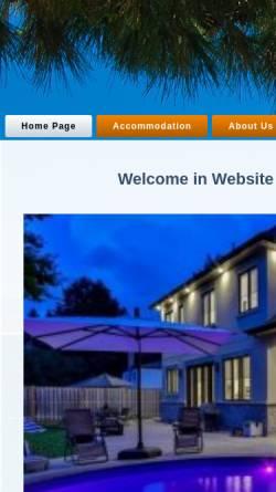 Vorschau der mobilen Webseite www.coala-travel.com, Coala-Travel
