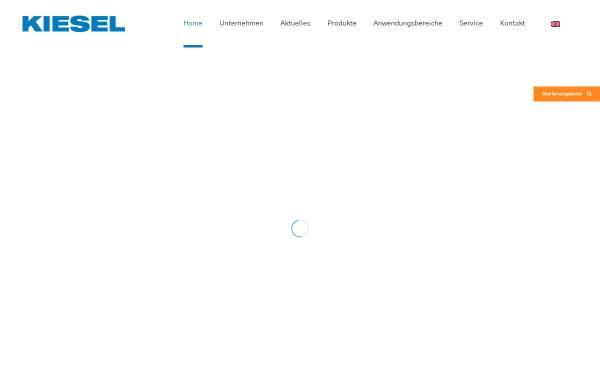 Vorschau von www.kiesel-online.de, G.A. Kiesel GmbH