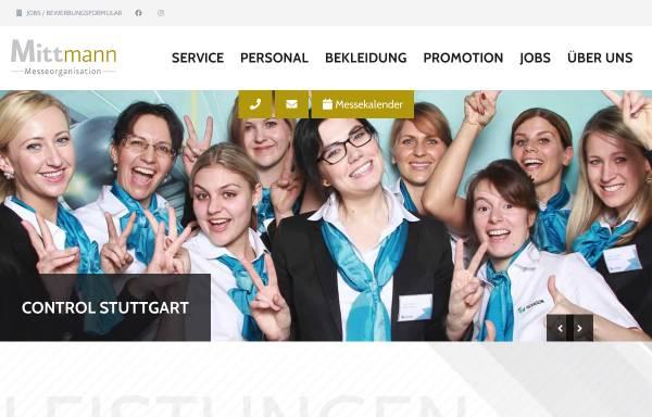 Vorschau von www.mittmann-messe.de, Mittmann Messeorganisation