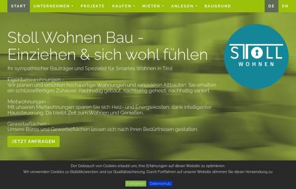 Vorschau von stollwohnen.at, Stoll Wohnen Bau GmbH