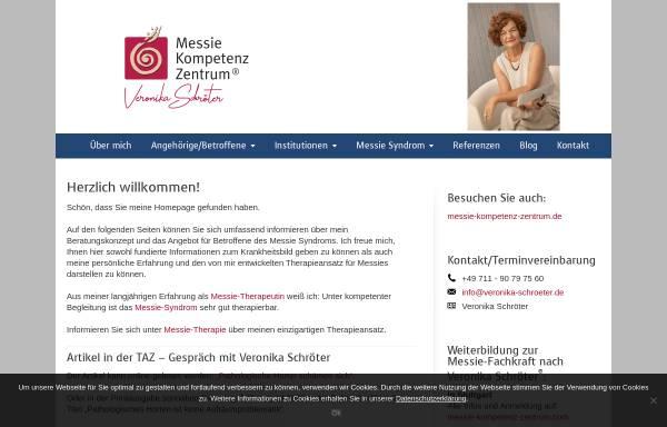 Vorschau von www.veronika-schroeter.de, Messieberatung Veronika Schröter