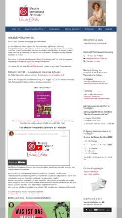 Vorschau der mobilen Webseite www.veronika-schroeter.de, Messieberatung Veronika Schröter