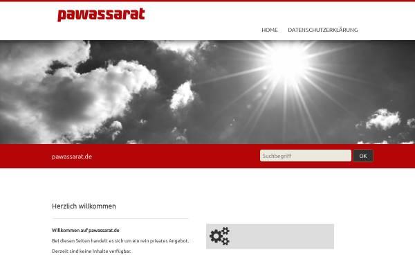 Vorschau von pawassarat.de, Pawassarat GmbH