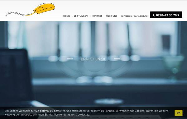 Vorschau von www.bonner-computerdienst.de, A.P.-Computerdienst