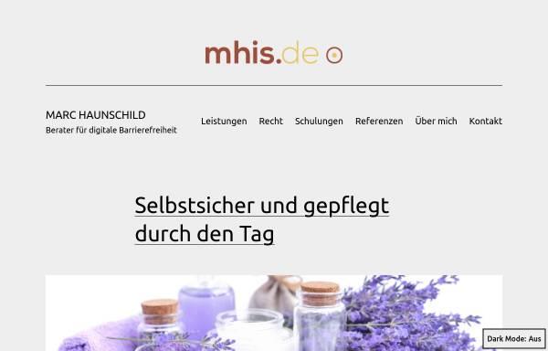 Vorschau von mhis.de, mhis.de - web designed for YOU!