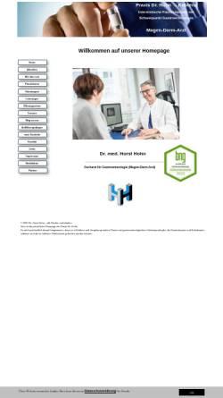 Vorschau der mobilen Webseite www.dr-hohn.de, Internistische Praxis Dr. Hohn