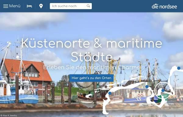 Vorschau von www.die-nordsee.de, Die Nordsee
