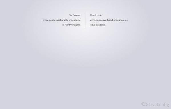 Vorschau von bundesverband-brennholz.de, Bundesverband Brennholzhandel und Brennholzproduktion e.V.