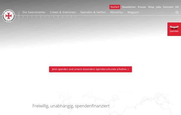 Vorschau von www.seenotretter.de, DGzRS - Deutsche Gesellschaft zur Rettung Schiffbrüchiger