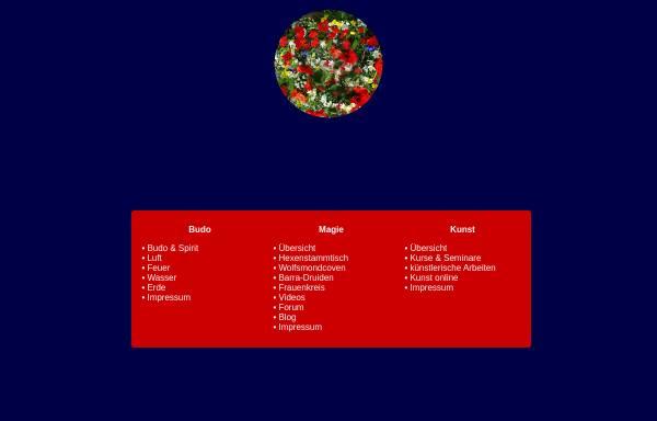 Vorschau von www.mondschwester.net, MondSchwester - Druiden, Coven, Magie und Kunst
