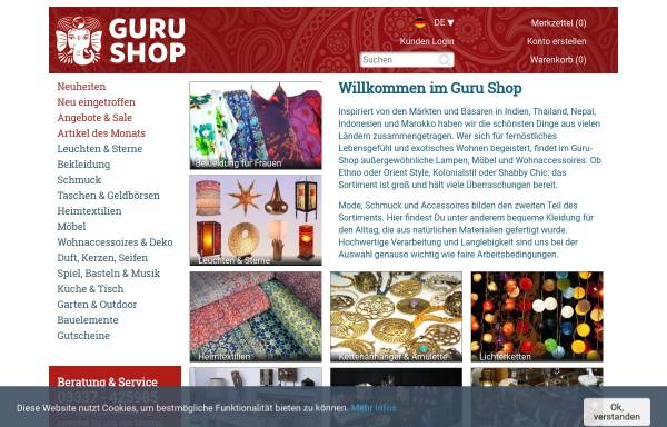 Guru-Laden: Asiashops, Onlineshops & Delikatessen guru-berlin.de