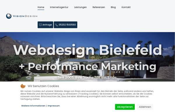 Vorschau von www.visiondesign.de, VisionDesign, Inh. Dominic Hanning