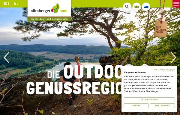 Vorschau von urlaub.nuernberger-land.de, Nürnberger Land Tourismus