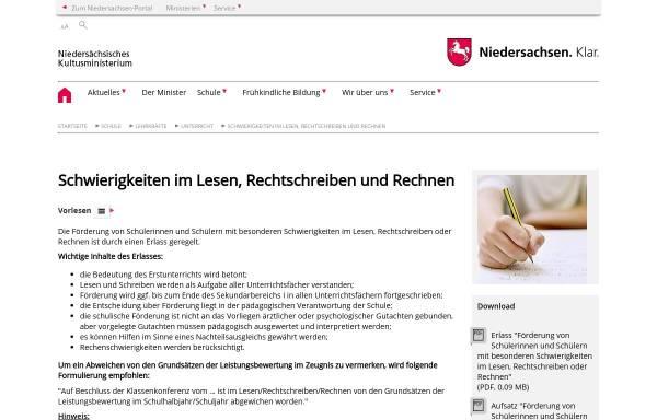 Vorschau von www.mk.niedersachsen.de, Behrens, Ulrike
