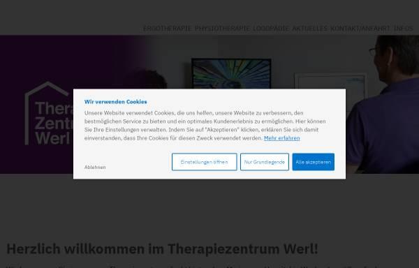 Vorschau von www.therapiezentrum-werl.de, Therapiezentrum Werl