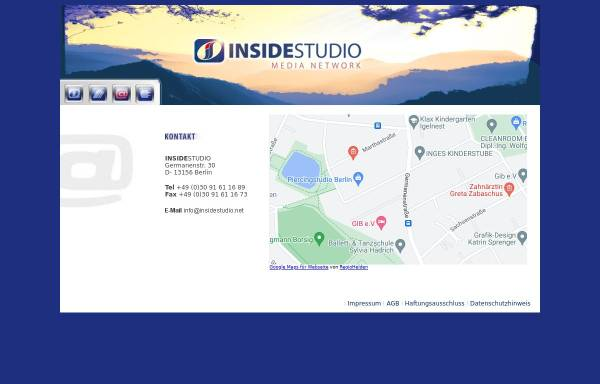 Vorschau von www.insidestudio.net, Insidestudio GbR