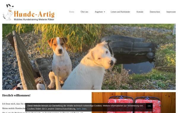 Vorschau von www.mobile-hundeschule-horn.de, Mobile Hundeschule Horn, Melanie Räker