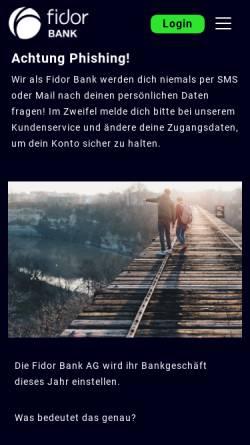 Bankleitzahl Fidor Bank