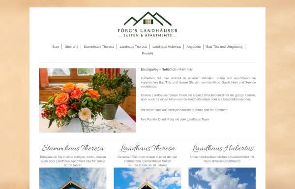 Vorschau von www.ferienwohnungen-badtoelz.de, Ferienwohnungen Bad Tölz