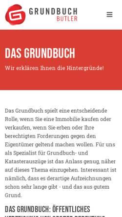 Vorschau der mobilen Webseite www.albatros-kanzlei.de, Siegert, Raúl, Albatros Anwaltskanzlei