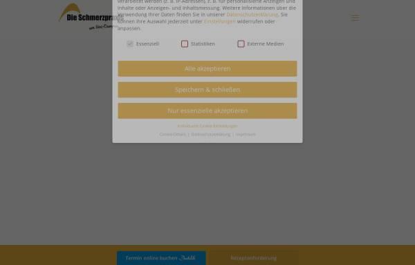 Vorschau von www.die-schmerzpraxis.de, Die Schmerzpraxis