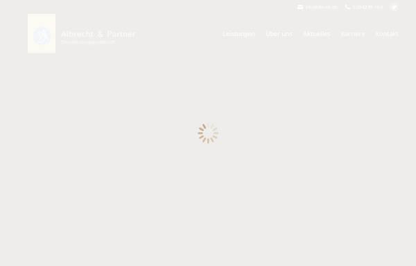 Vorschau von www.da-steuerberatung.de, Albrecht & Partner Steuerberatungsgesellschaft
